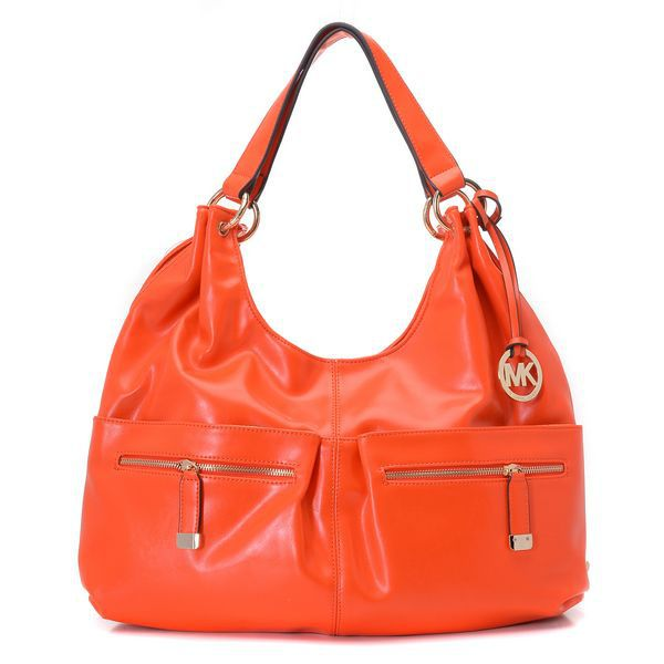michael kors blake zip top large orange hobo hobo pinterest rh pinterest com