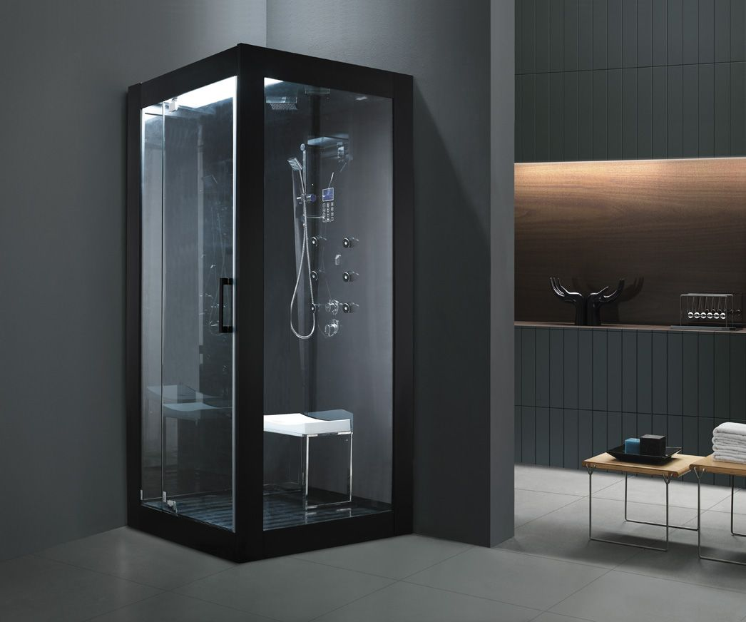 Monalisa M-8283 luxury wet steam room with touch control panel ...