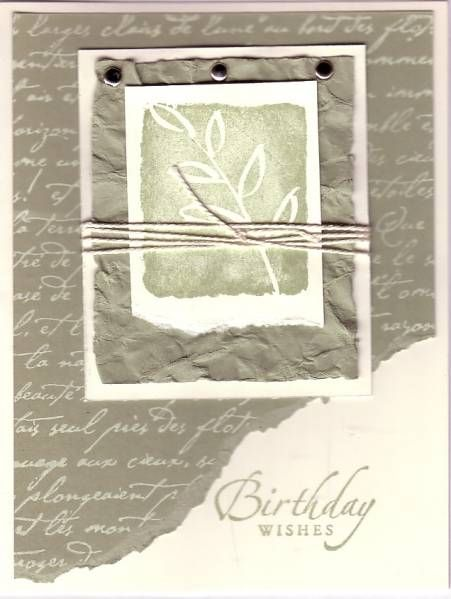 Mossy All I Have Seen by Illinois Marge - Cards and Paper Crafts at Splitcoaststampers