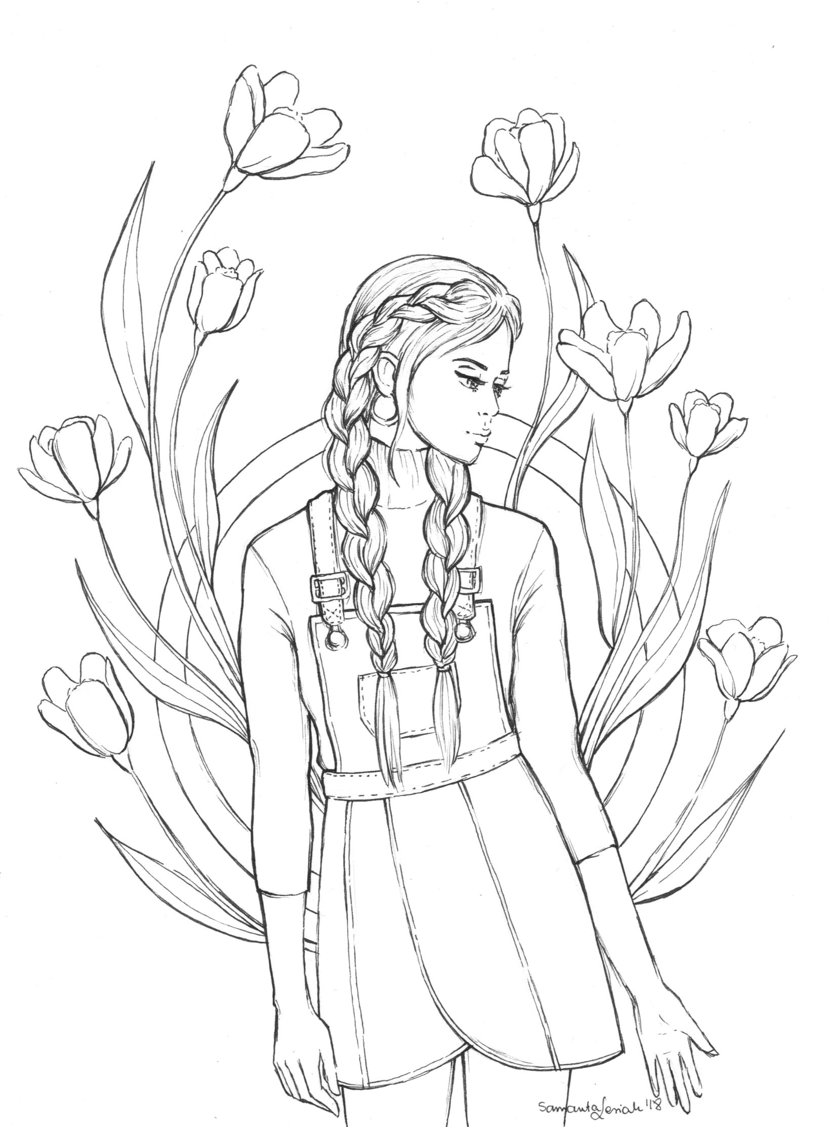 Rysunek Zrobiony Przez Sami Https Www Youtube Com Watch V Ghk2e Njidu Nature Sketch Cute Coloring Pages Drawing Images