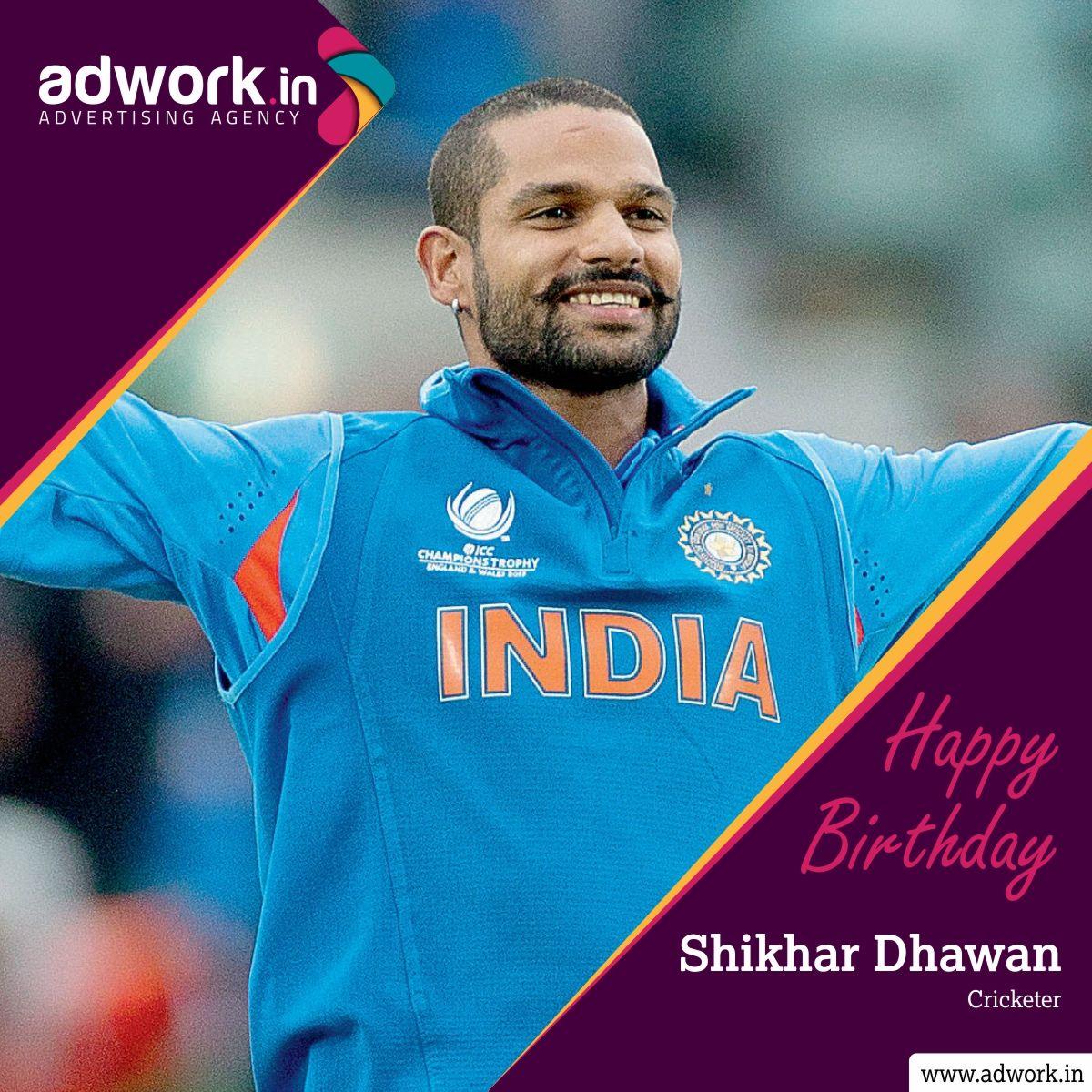 Wish you HappyBirthday ShikharDhawan (Cricketer), Visit