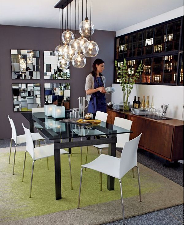 Perspective Mirror Home Decor Dining Lighting