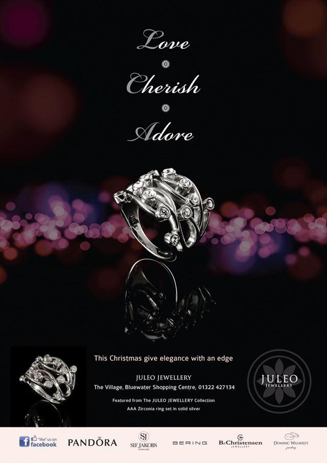 Juleo Jewellery Christmas 2012 - Jewellers at Bluewater Chartage - jewelry brochure