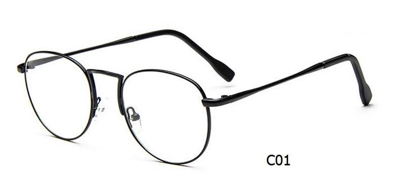 2015 new designer metal vintage glasses frame korea students super ...