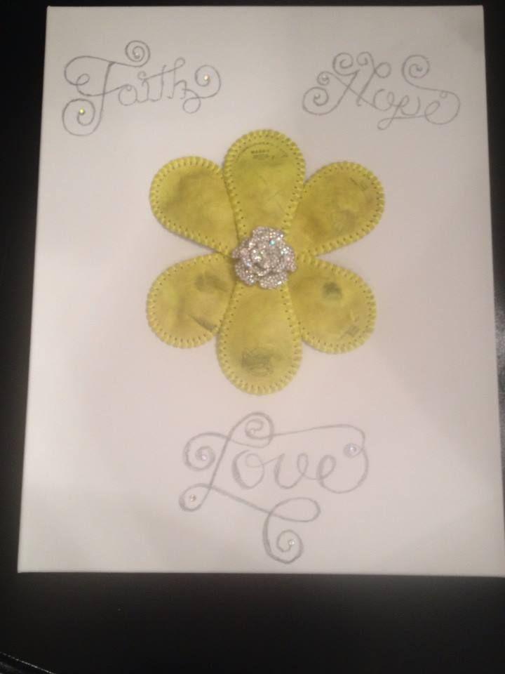 Softball Flower Bling Art Crafts Flower Pictures