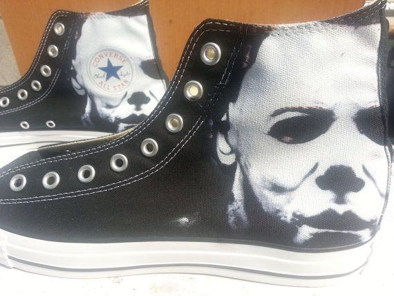 Halloween Michael Myers Custom Converse