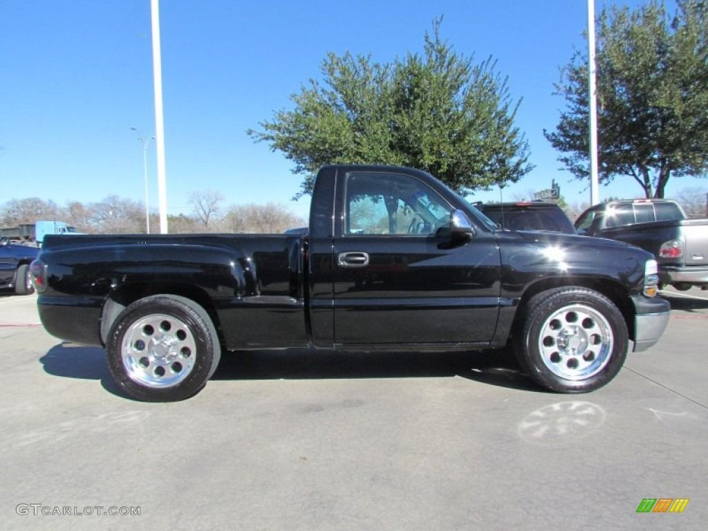 2001 chevrolet silverado 1500 ls regular cab custom wheels. Black Bedroom Furniture Sets. Home Design Ideas