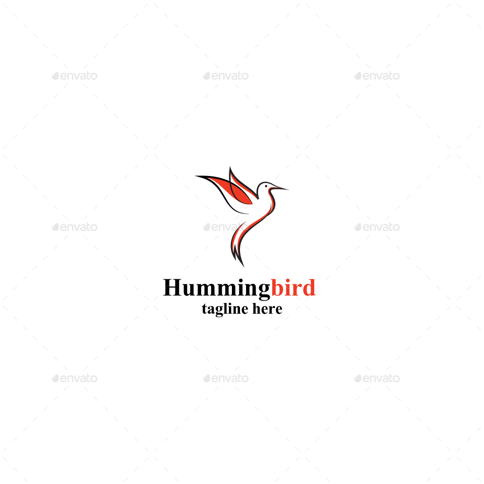 Humming Bird Logo Design Logo Design Bird Logo Design Design