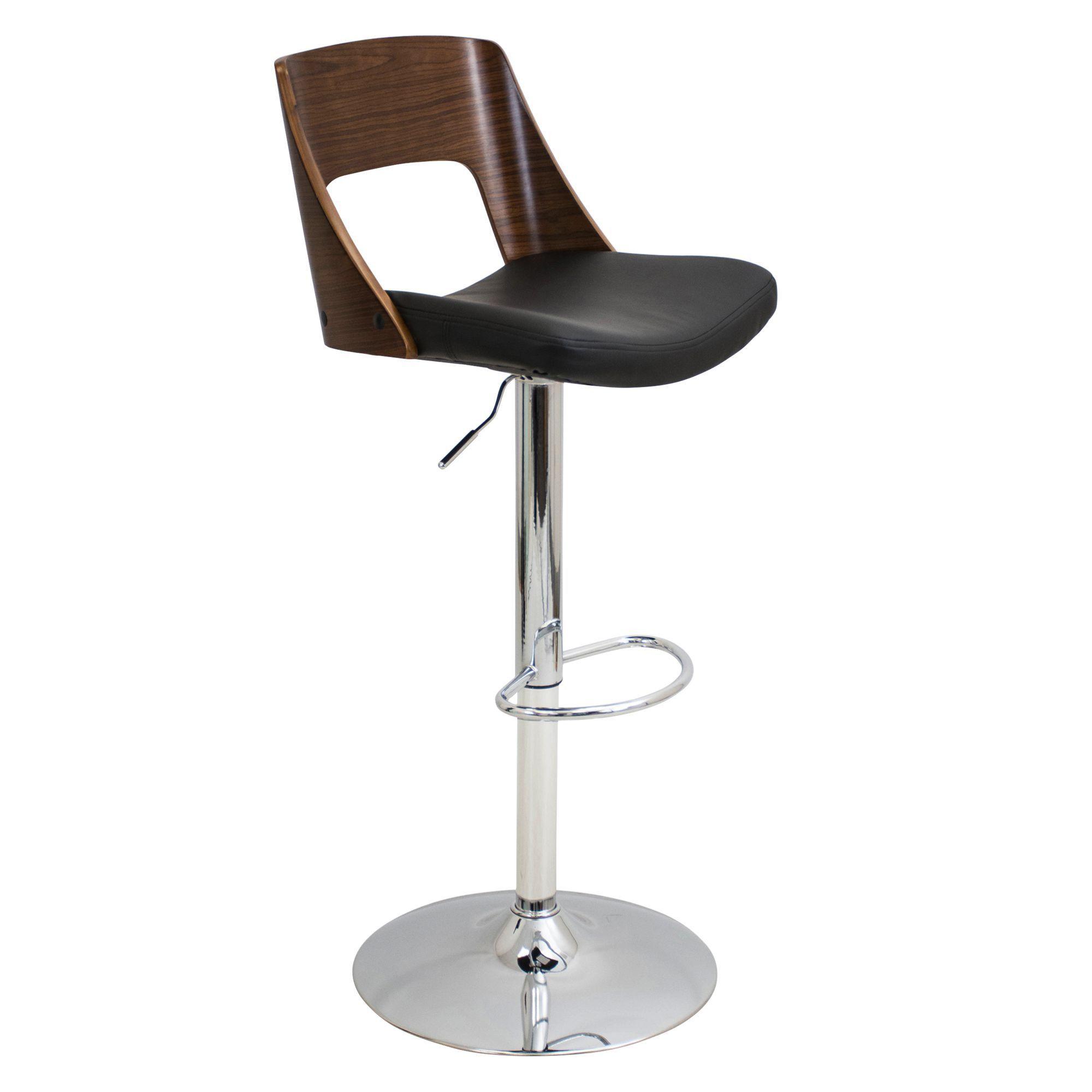 LumiSource Valencia Adjustable Bar Stool | Products | Pinterest
