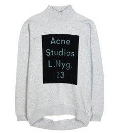 Acne Studios - Beta Flock printed cotton sweatshirt - mytheresa.com GmbH
