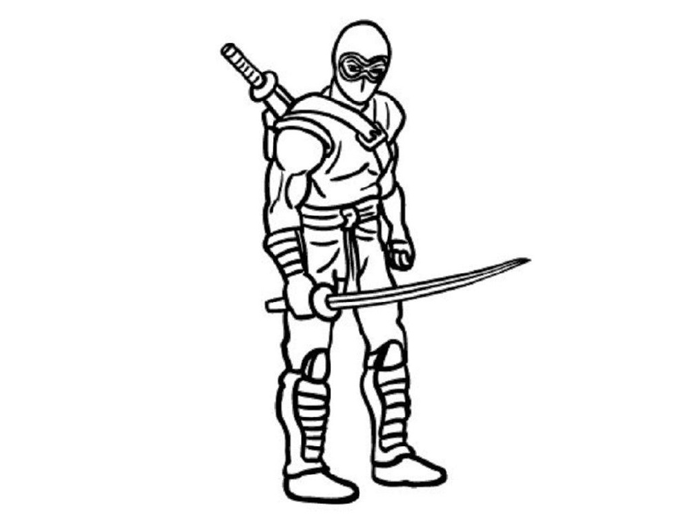 Hideous Ninja Coloring Pages 101 Coloring in 2020