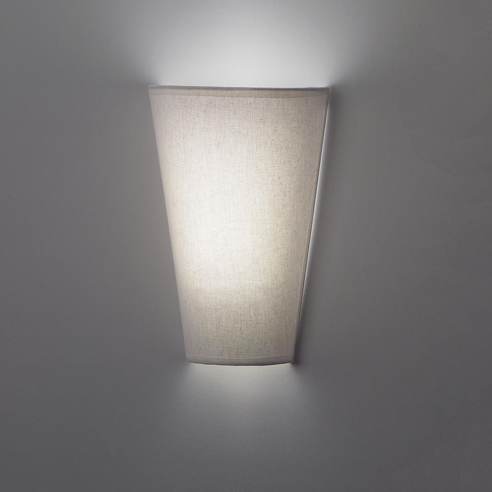 It S Exciting Lighting White Veined Fabric Wall Mounted Indoor Battery Operated 6 Integrated Led Sconce Wit Sconces Battery Operated Wall Sconce Battery Lights