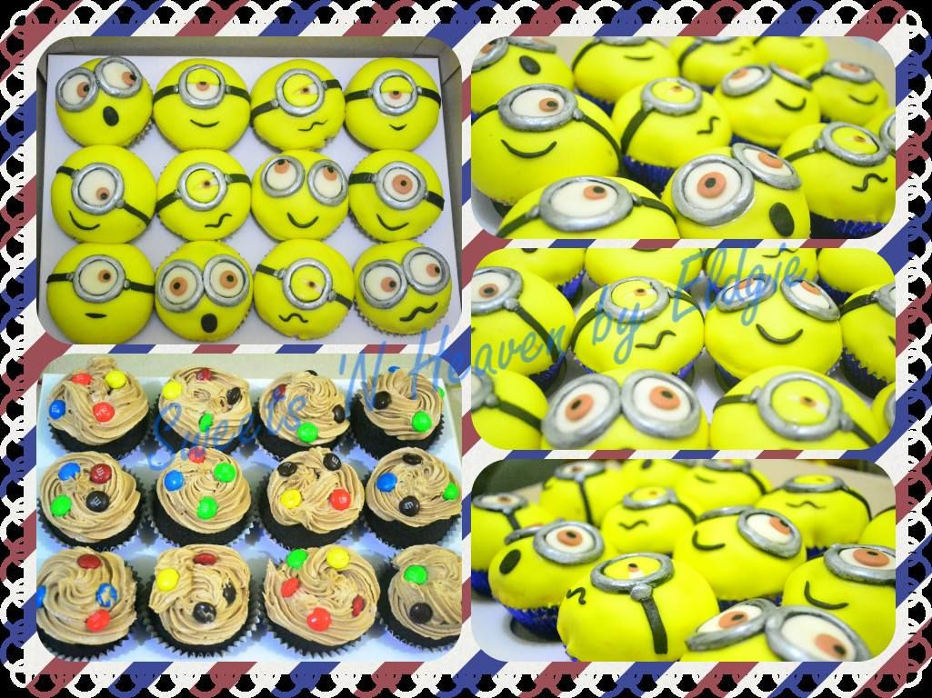 Minion Cupcakes  facebook page: Sweets 'N Heaven by Eldgie
