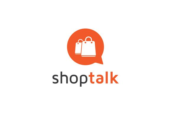 Check Out Shop Talk By M M On Creative Market Logo Design Logos
