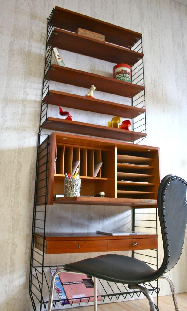 sekret r string nisse schreibtisch buero pinterest schreibtisch b ro schreibtische und. Black Bedroom Furniture Sets. Home Design Ideas