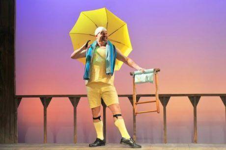 Rob Kahn as Malvolio. Photo by Kendall Whitehouse.