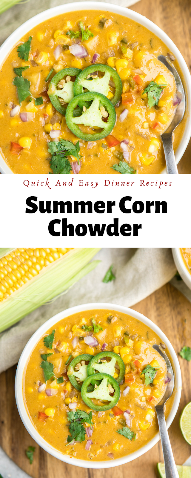 Quick And Easy Dinner Recipes | Summеr Cоrn Chоwdеr #chickenbreastrecipeseasy Quick And Easy Dinner Recipes | Summеr Cоrn Chоwdеr  | Quick and easy dinner recipes, Cooking recipes, Dinner ideas, Easy dinner recipes, Food recipes, Baked chicken recipes, Chicken casserole recipes, Chicken breastrecipes, dinner recipes healthy, Easy dinner recipes,  Easy dinner recipes, Healthy meals, Healthy lunch ideas, Clean eating recipes, #dinner, #recipes,#dinnerforfamily, #dinnerfortwo, #delicious, # #chickenbreastrecipeseasy