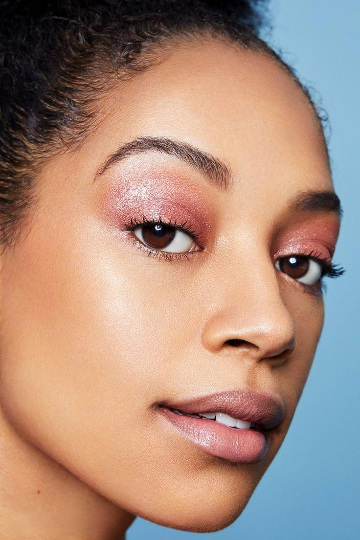 Set to Stun icy rose with blue glitter Super Shock