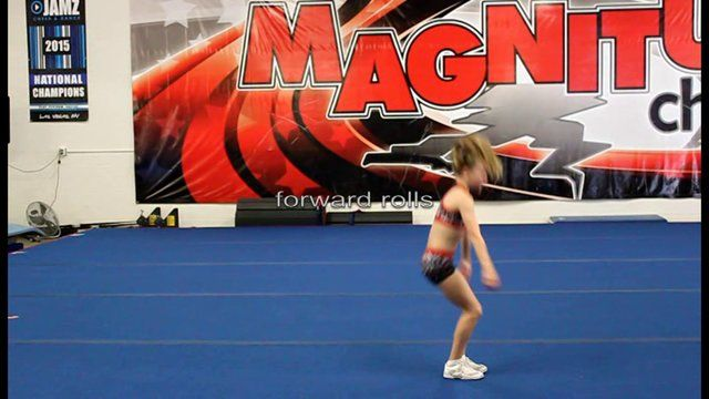 http://www.MagnitudeCheer.com (818) 280-8044  Give your child the gift of life-long friendships and increase physical prowess at our gym.  Tumbling classes start with our tumbling fundamentals class.  Tumbling classes, cheer classes, All-Star teams, private lessons, birthday parties, and more available.  Call today to schedule a gym tour for your family!  8811 Amigo Ave, Northridge, 91324