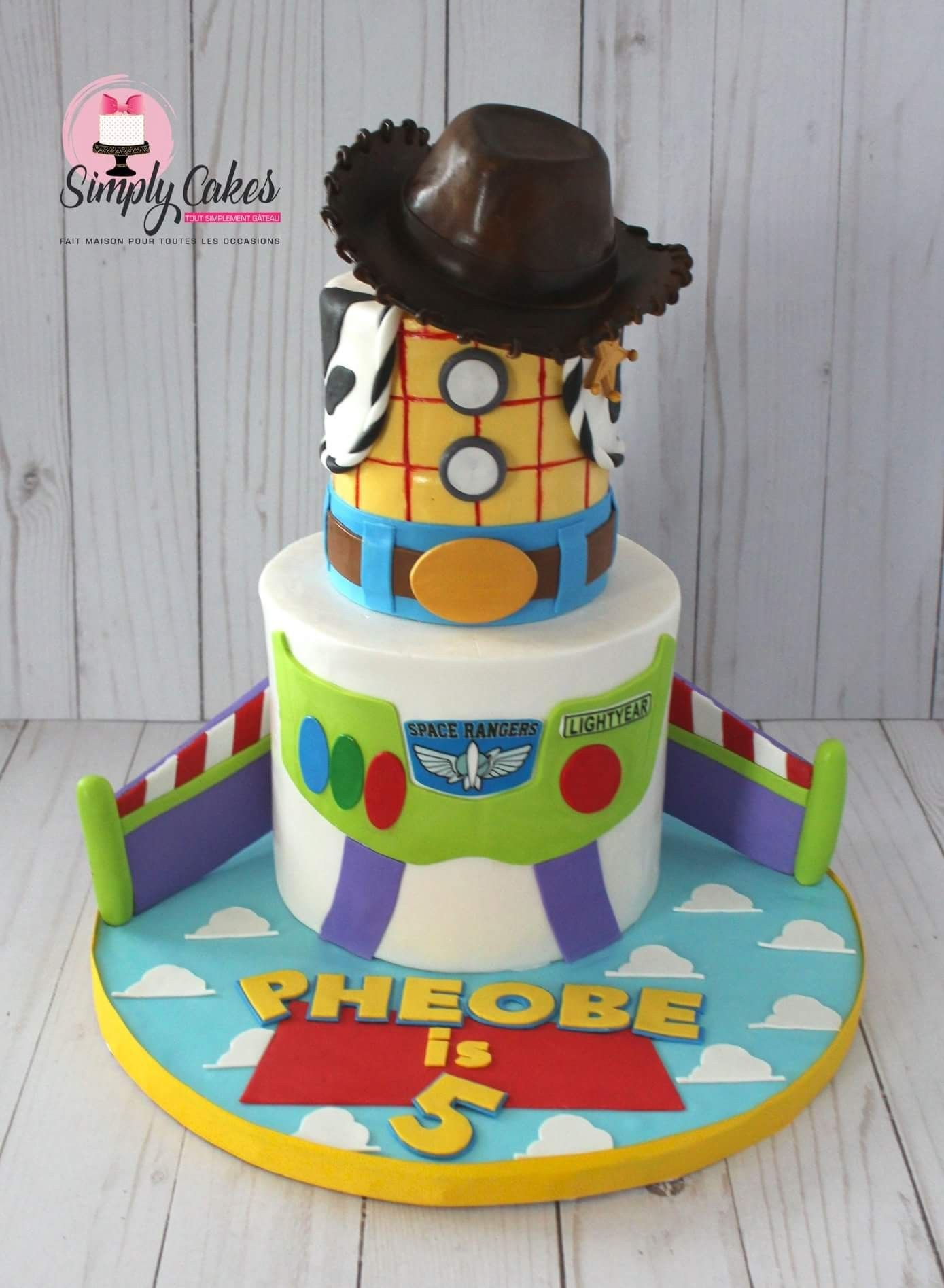 Remarkable 4 Inch And 6 Inch Cake Toy Story Birthday Cake Toy Story Funny Birthday Cards Online Drosicarndamsfinfo