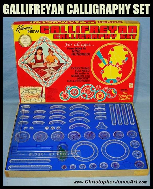 Gallifreyean calligraphy set