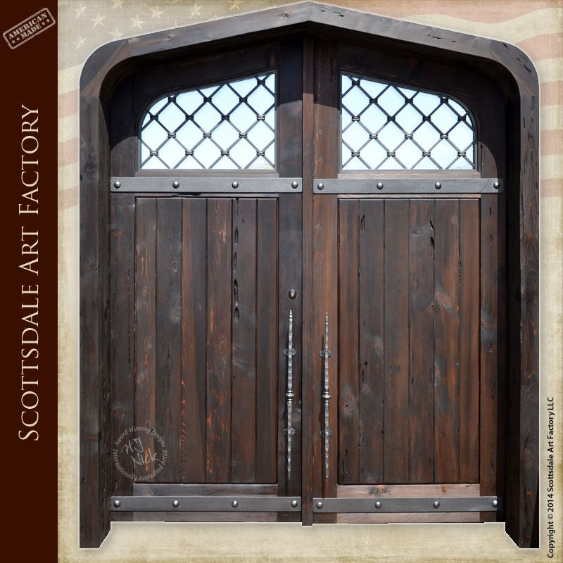 Custom Exterior Entry Doors Double Cathedral Dw1403 But Lengthen