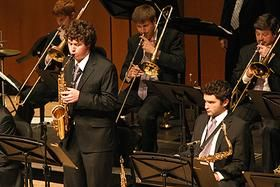 Students in the Jazz Studies Program at Northwestern--the future of jazz looks very bright