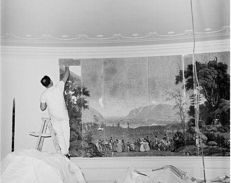 White house wallpaper hanger, 1961 Wall Pinterest Scenic