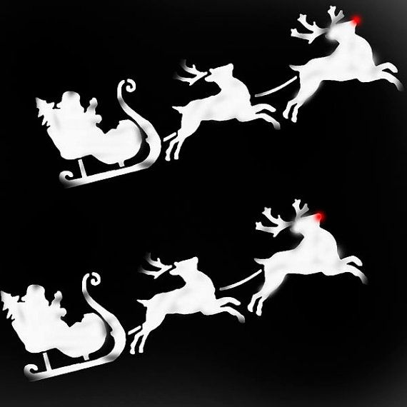 Christmas Themed Stencils Are Ideal For Making And