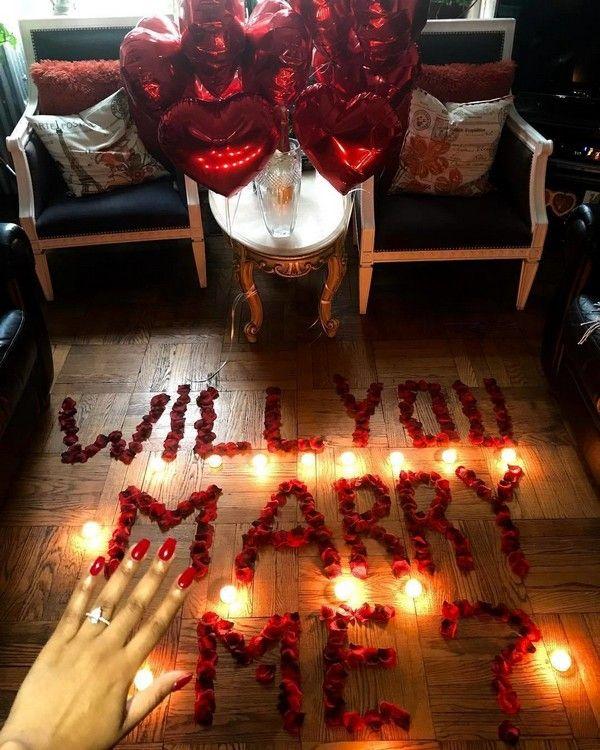 30 Creative Marriage Proposal Ideas | My Deer Flowers