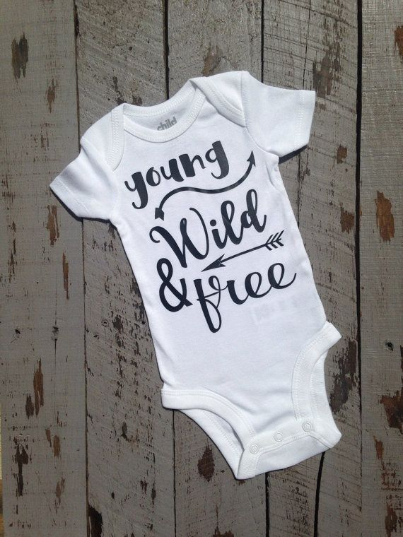 Young wild free arrow baby boy tribal by trendiesttotsintown young wild free arrow baby boy tribal shirt woodland shirt personalized baby gift coming home outfit baby boy shower gift cute negle Images