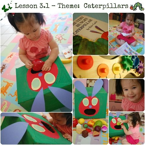 C is for Caterpillar! We read The Very Hungry Caterpillar, and will continue to read it everyday this week, to start off our lesson. After ...
