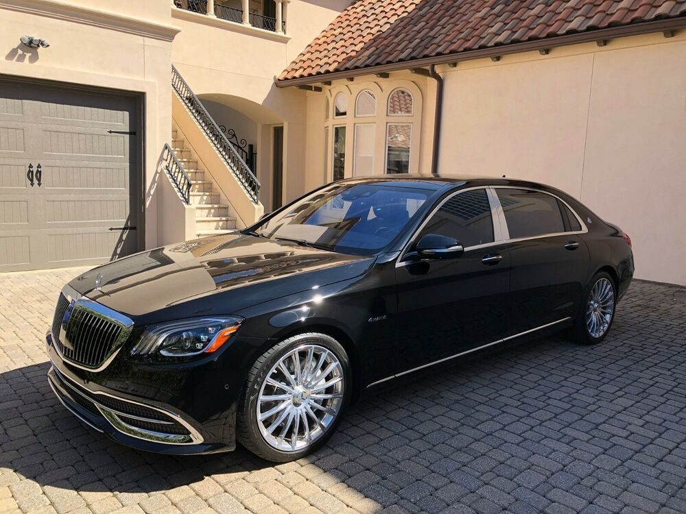 For Sale 2019 Mercedes Benz Maybach S 560 Maybach S 560 2019 Mercedes Benz Maybach S 560 4 0l V8 Biturbo Engine Airmatic Mercedes Benz Maybach Maybach Benz