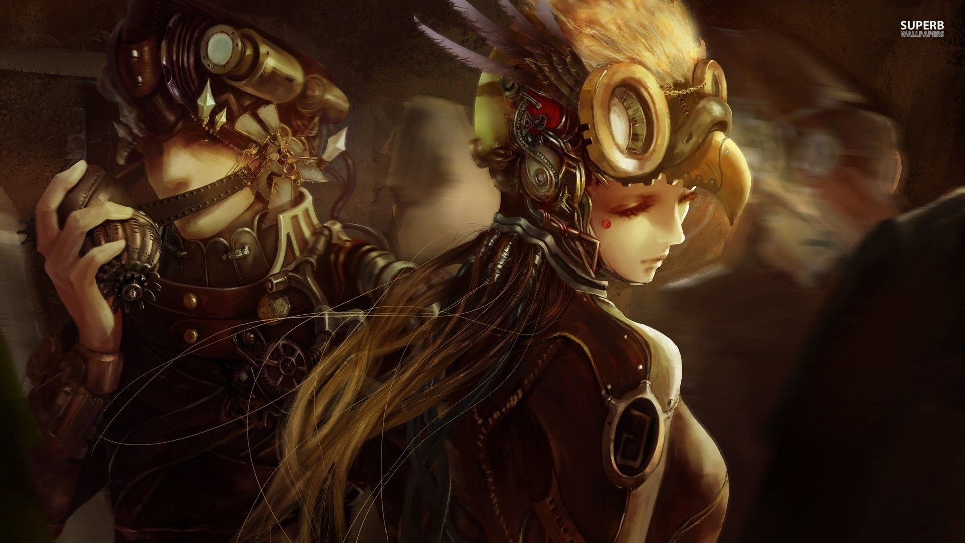 wallpapers steampunk girl eyes - photo #9