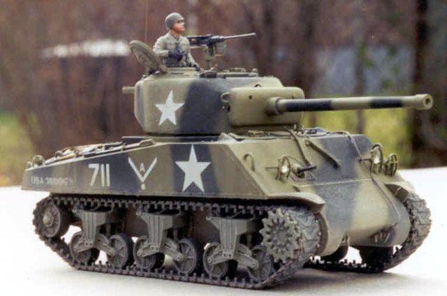 M4A3 Sherman by Garfield Ingram (Bandai 1/48)
