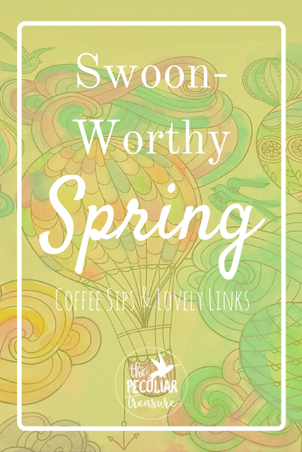 Swoon-Worthy links that are all about Spring, color, and fun!
