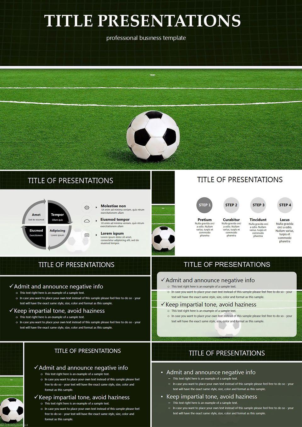 Football Balls Powerpoint Templates Templates Presentation