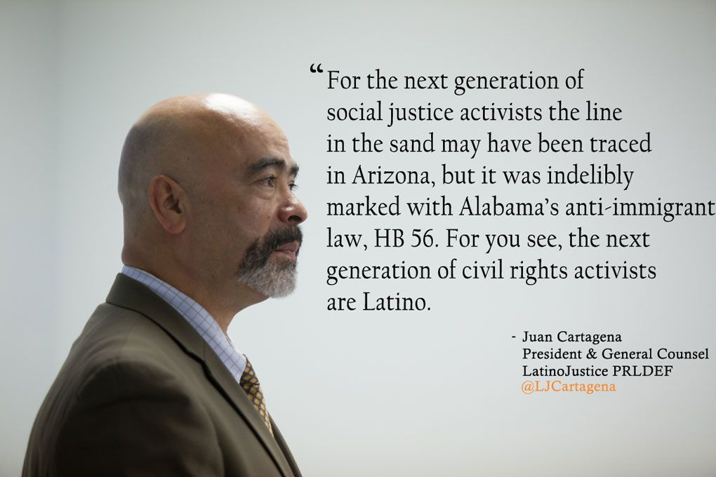 The next generation of civil rights leaders are Latino