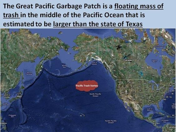 The Great Pacific Garbage Patch Counts 1 8 Trillion Pieces Of Trash Mostly Plastic