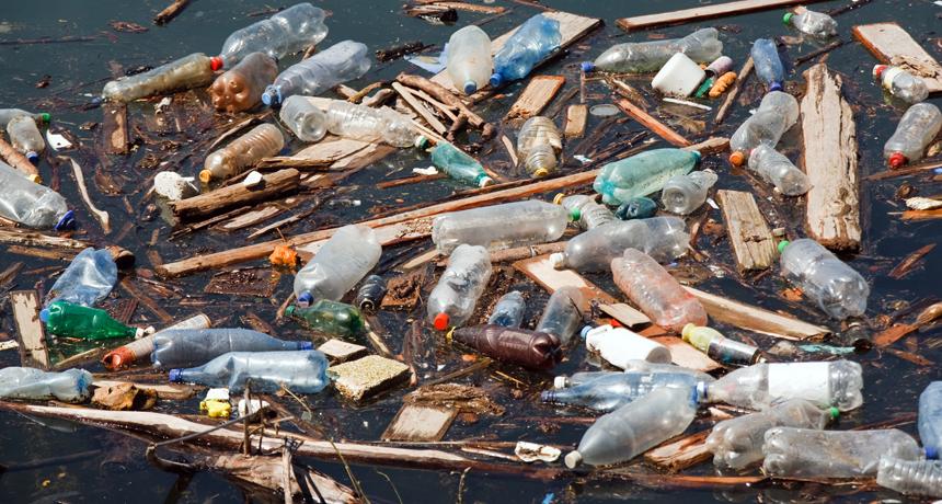 Ocean Plastics Nalgene Water Bottle Great Pacific Garbage Patch Nalgene Bottle