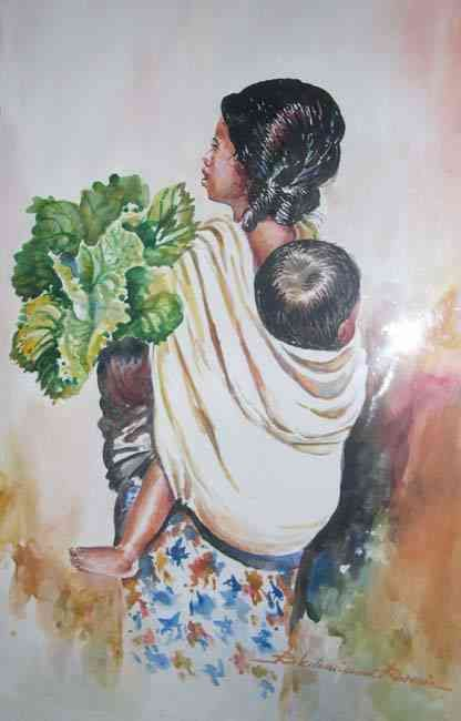 Peintre Malgache Romain Rakotoarimanana Les Arts Peinture