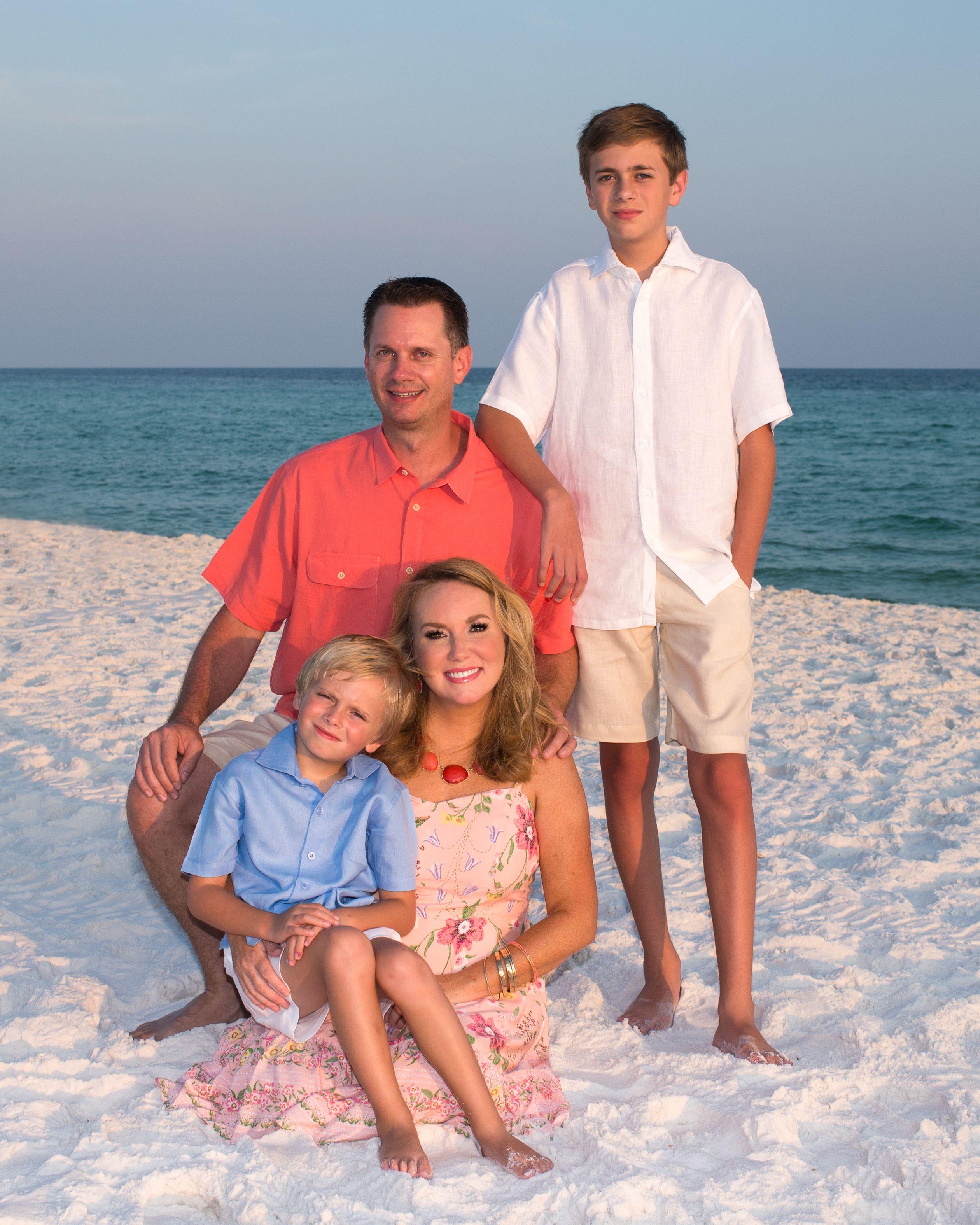 Family Beach Portraits Destinfl