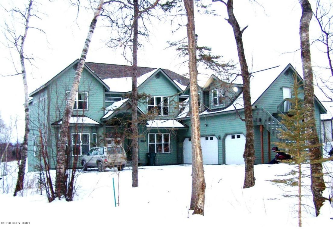 A 7700 sqft mansion that lays on Wasilla Lake. This beautiful estate is equipped with granite counters, maple cabinets, upgraded appliances, and engineered hardwood. Check out the listing and take a virtual tour!
