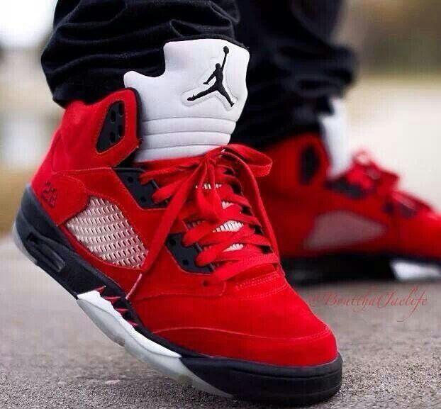 Red jordans 23 | Sneakers, Air jordans