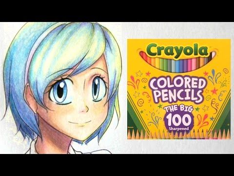 How To Color With Crayola Colored Pencils Part One Skin Youtube Crayola Colored Pencils Colored Pencils Colored Pencil Tutorial