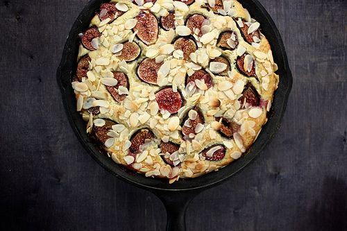 Fresh Fig and Almond Breakfast Cake - Joy the Baker