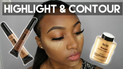 easy highlight  contour talk through  beginner friendly