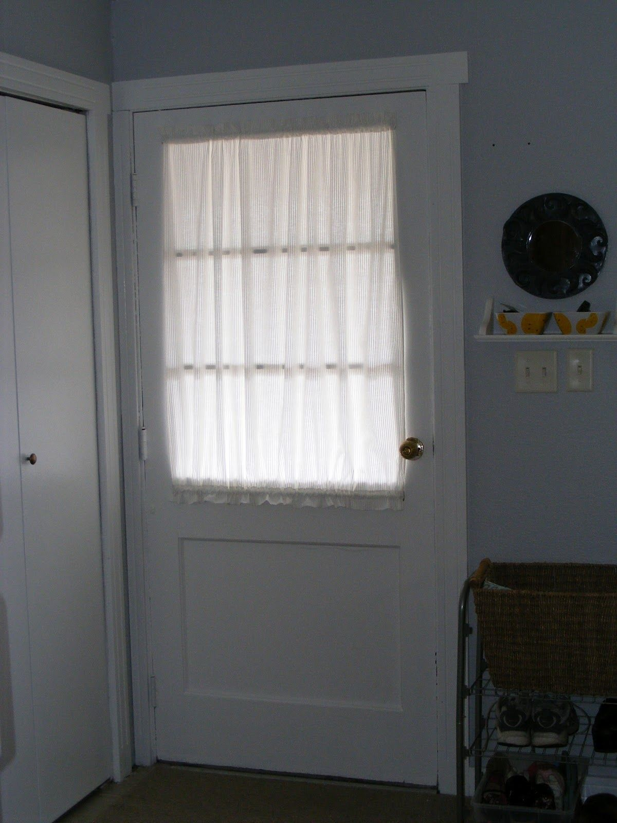 Kitchen Door Curtains No Curtain Ideas For Front Door Windows Dutch Door Window