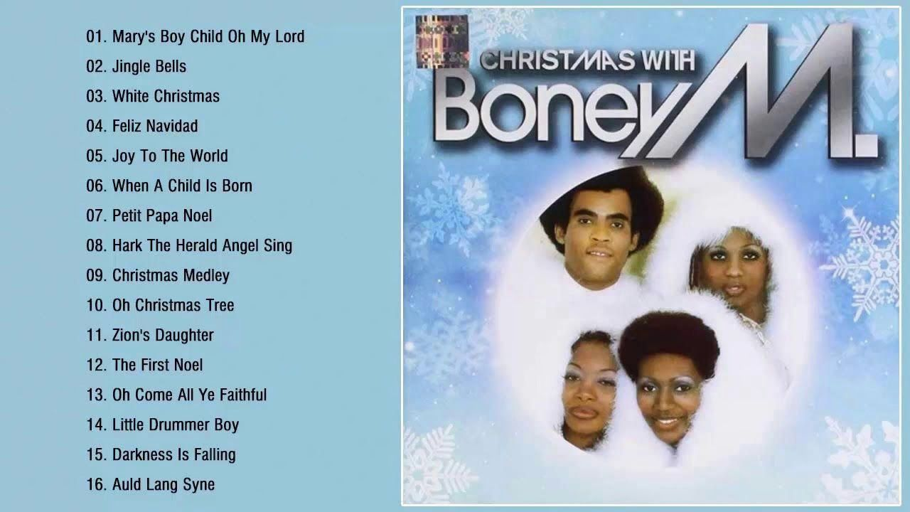 Boney M - Christmas Album 2019 - Merry Christmas Songs (With images)   Merry christmas song ...