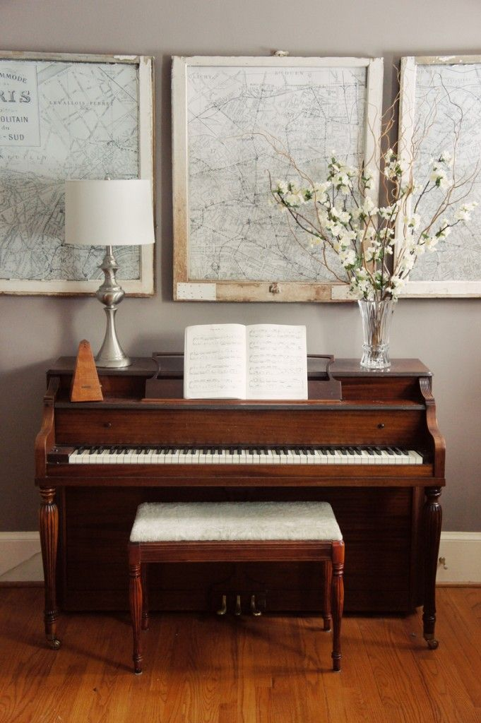 Maybe my map installation one of my more only for Piano room decor